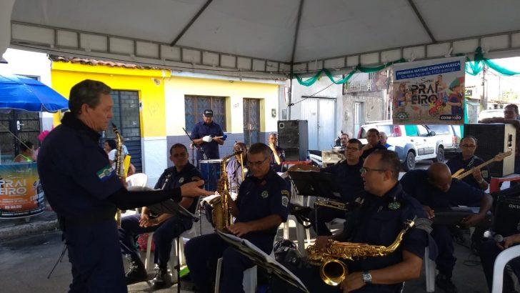 Banda da Guarda leva música de qualidade às comunidades