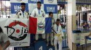 Projeto social de judô realizado na Guarda Municipal conquista medalhas