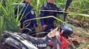 Moto roubada, facão e simulacro são recuperados pela GCM de São Miguel dos Campos