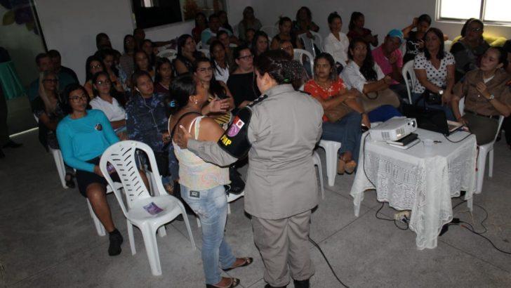 GCM de São Miguel dos Campos participa de palestra sobre enfrentamento à violência doméstica
