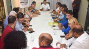 Sindicatos se reúnem com Prefeito Rui Palmeira e conseguem retirada do projeto de pauta da Câmara