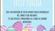 Feliz e abençoada Páscoa a todos!