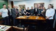 FenaGuardas se reúne com líder do Governo, Deputada Joice Hasselmann
