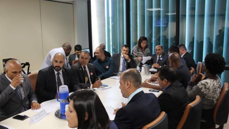 Sindguarda-AL participa de reunião que trata emenda da Reforma da Previdência