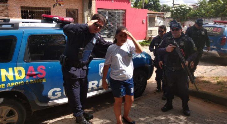 Criança especial realiza desejo de conhecer integrantes da Guarda Municipal