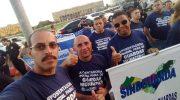 Ato unificado em prol da aposentadoria policial reúne várias instituições de segurança pública
