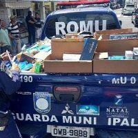 Guarda Municipal apreende uma tonelada de cigarro contrabandeado em Natal