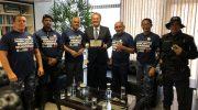 Sindguarda-AL se reúne com Senador Renan Calheiros solicitando apoio para a doação de armas