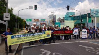 Não à Reforma da Previdência: Forças de Segurança Pública protestam contra a PEC 06/2019
