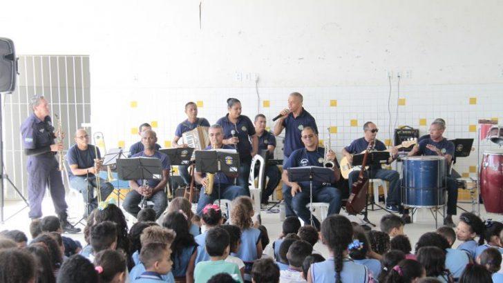 Guarda Faz Escola leva ações de cidadania para estudantes