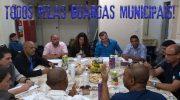 TODOS PELAS GUARDAS MUNICIPAIS!