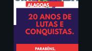 Sindguarda-AL comemora 20 anos de lutas e conquistas
