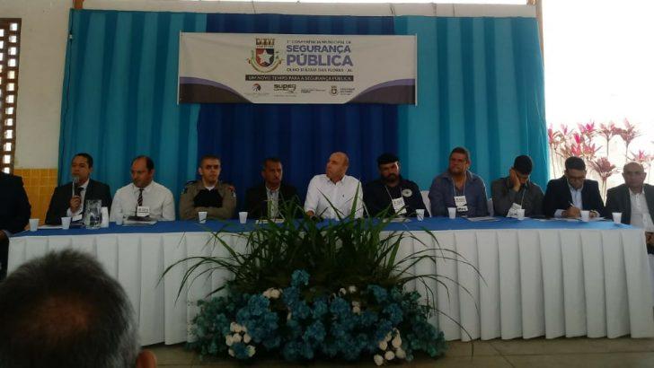 SINDGUARDA-AL prestigia 1ª Conferência Municipal de Segurança Pública em Olho D'Água das Flores