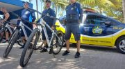 Bike Patrulha: Guarda Municipal atua na orla de Maceió