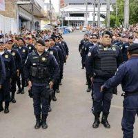 7 de Setembro: Guardas Municipais do interior se apresentam em desfile cívico