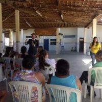 Projeto Guarda Faz Escola aborda relação entre pais e filhos