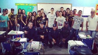 GCM de Delmiro Gouveia ministra palestras em escolas da rede pública de ensino