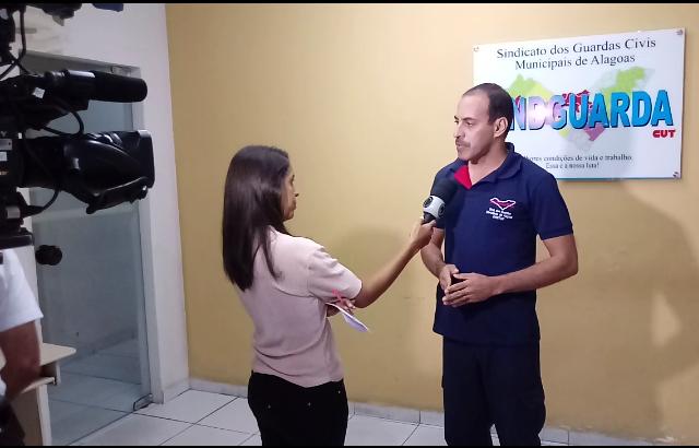 Vídeo: Diretor do Sindguarda fala sobre contratações irregulares de GCM em Alagoas