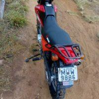 Guarda Civil Municipal de Capela recupera motocicleta roubada
