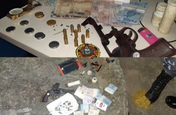 Homem é capturado pela GCM de Traipú por porte ilegal de arma e tráfico de drogas
