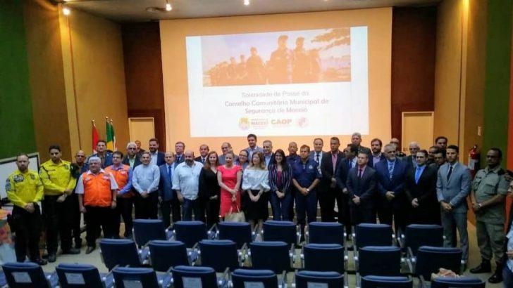 Sindguarda-AL prestigia solenidade de posse do Conselho Comunitário Municipal de Segurança de Maceió