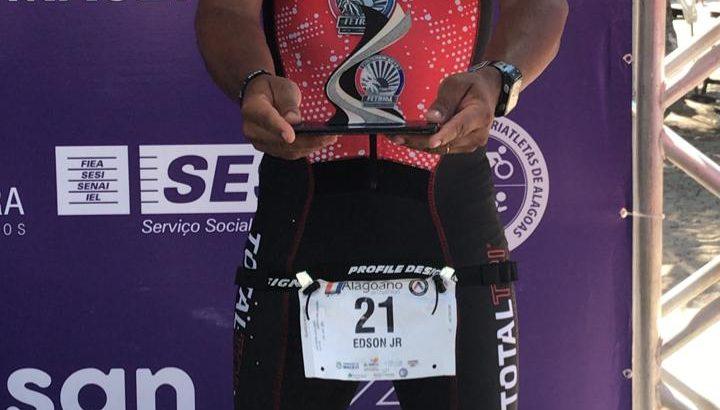 Guarda Municipal é prata em campeonato de triathlon