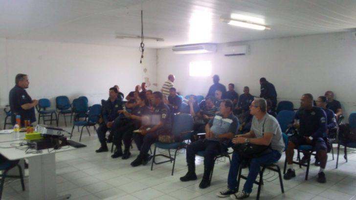 Guardas Municipais de Maceió realizam treinamento com espargidores