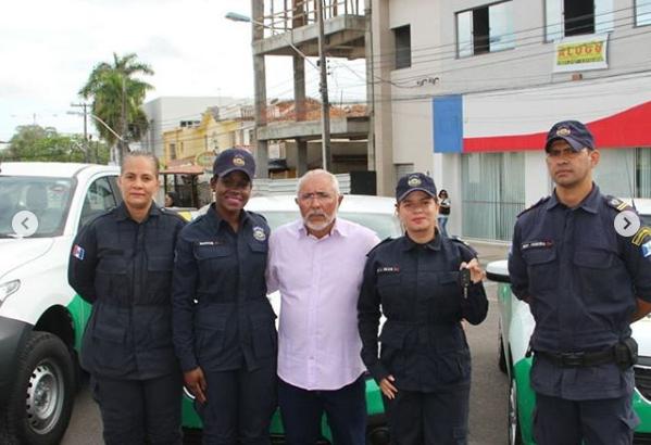 Guarda Municipal de Delmiro Gouveia recebe três novas viaturas