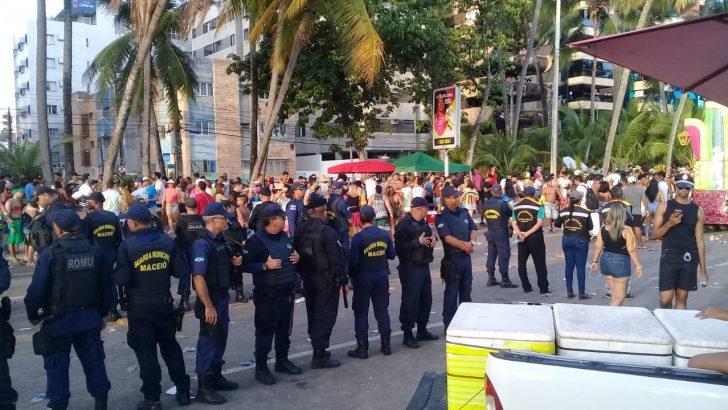 Guarda Municipal de Maceió garante a segurança dos foliões nas prévias carnavalescas