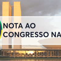 NOTA AO CONGRESSO NACIONAL