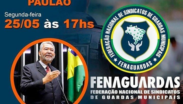 Live com Deputado Federal, Paulão