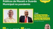 Live irá abordar situação dos Guardas Municipais na pandemia