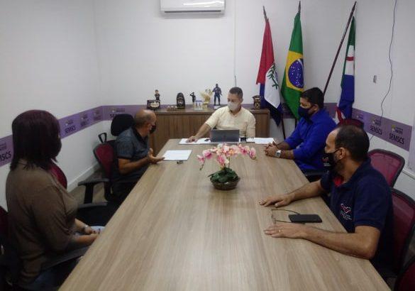 Sindguarda-AL se reúne com secretário da SEMSCS para tratar sobre a doação do terreno da GMM