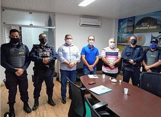 GCM São Miguel dos Campos: reunião discute demandas da categoria com o prefeito Pedoca Jatobá