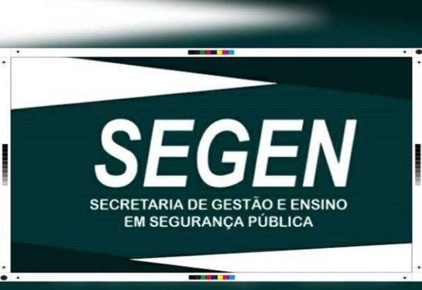 Min. da Justiça instituiu a SEGEN para tratar dos assuntos relacionados ao Ensino dos profissionais de segurança pública