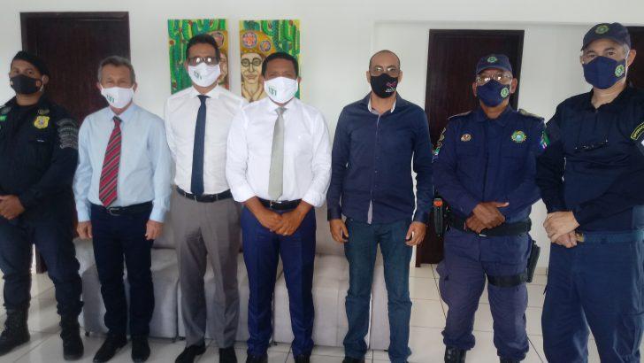 Sindguarda se reúne com gestor para tratar sobre o Curso de Formação da GM de Palmeira dos Índios