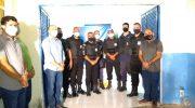 Conquista: Sindguarda-AL participa da cerimônia de entrega dos coletes balísticos da GM de Olho D'água das Flores