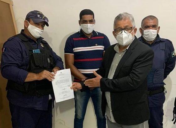 Traipú: Prefeito Cavalcante dá posse a novos comandantes da Guarda Civil Municipal