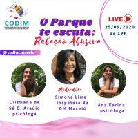 Inspetora da GMM, Simone Lima participará de Live sobre Relações Abusivas