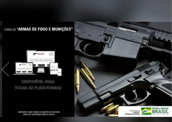 """Oportunidade: SEGEN oferece curso de """"Armas de Fogo e Munições"""" para profissionais da Segurança Pública"""