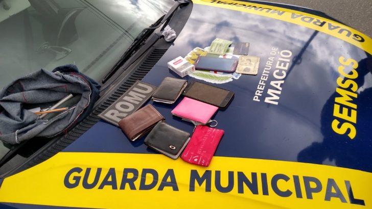 Após denúncia, ROMU detém suspeitos de praticar assalto na parte alta de Maceió