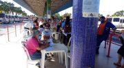 ROMU II, da GMM participa de campanha Outubro Rosa, no terminal do Benedito Bentes