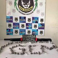 GCM Teotônio Vilela: dois homens são presos com maconha e uma espingarda calibre 12
