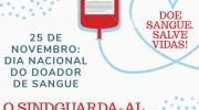 25 de Novembro: Dia Nacional do Doador de Sangue
