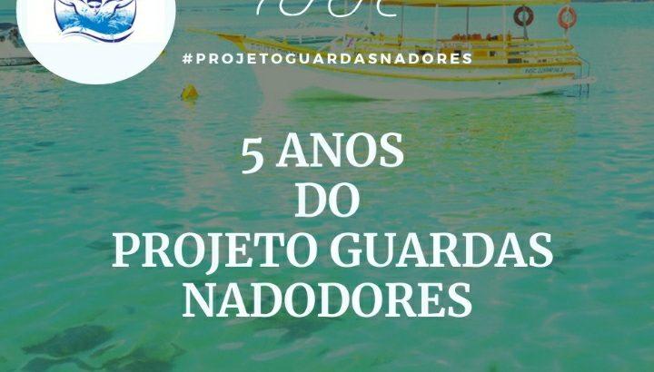 Projeto Guarda Nadadores, da Guarda Municipal de Maceió, comemora cinco anos de existência