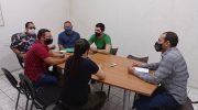 GCM's de Joaquim Gomes se reúnem com a direção do Sindguarda-AL