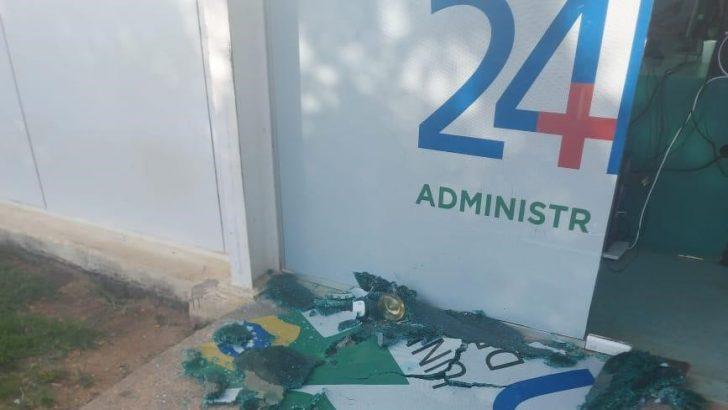 GCM de Palmeira dos Índios é acionada após denuncia de vandalismo na UPA da cidade