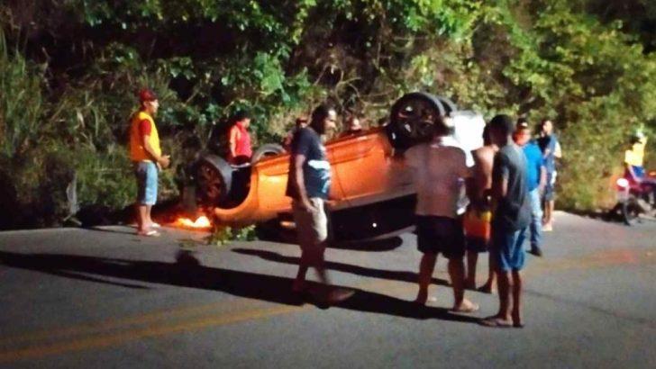 GCM de São José da Laje é acionada após capotamento de carro