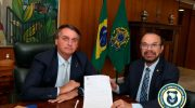 Pautas prioritárias às Guardas Municipais são apresentadas á Bolsonaro pelo Dep. Lincoln Portela