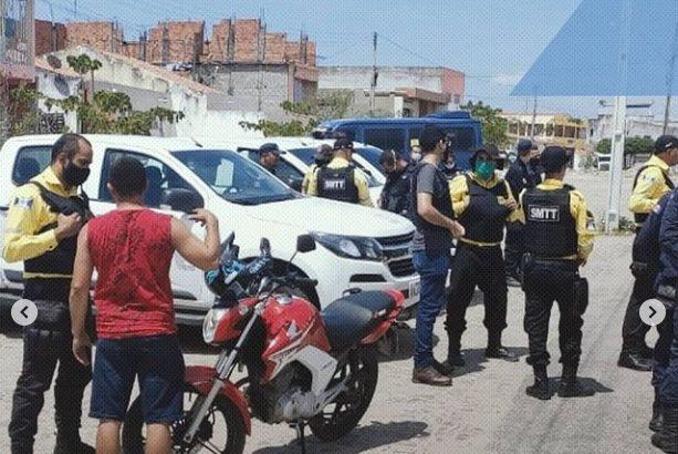 GCM de Delmiro Gouveia e SMTT participam de ações integradas de segurança